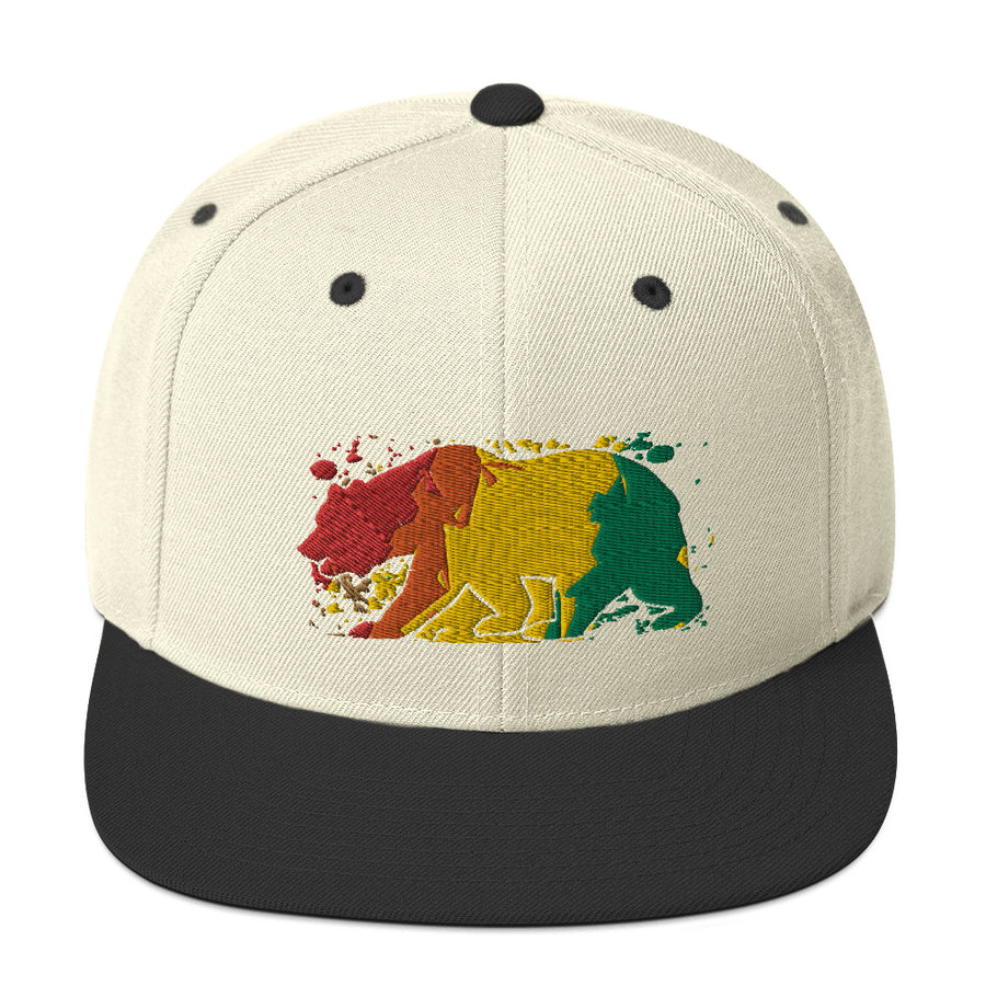 California Rasta Bear - Hat