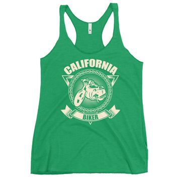 California Biker Motorcycle - Women's Tank Top