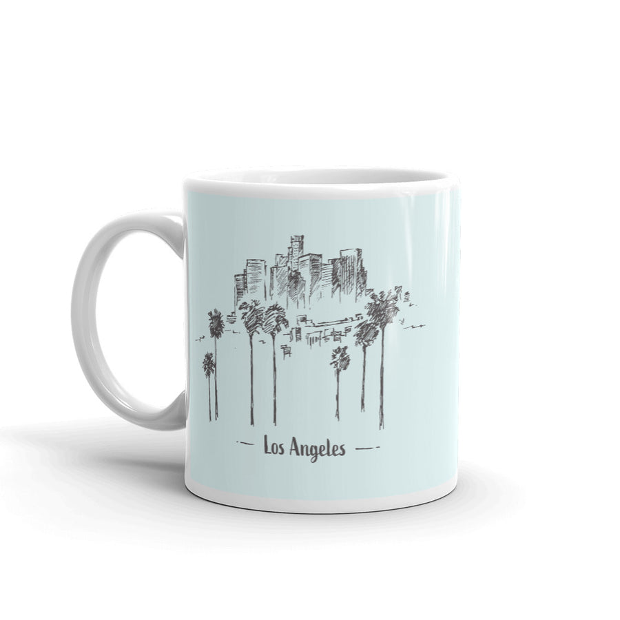 Hand Drawn Los Angeles - Mug