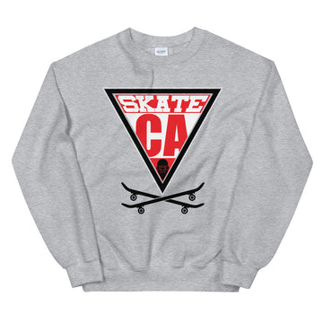 Skate CA - Men's Crewneck Sweatshirt
