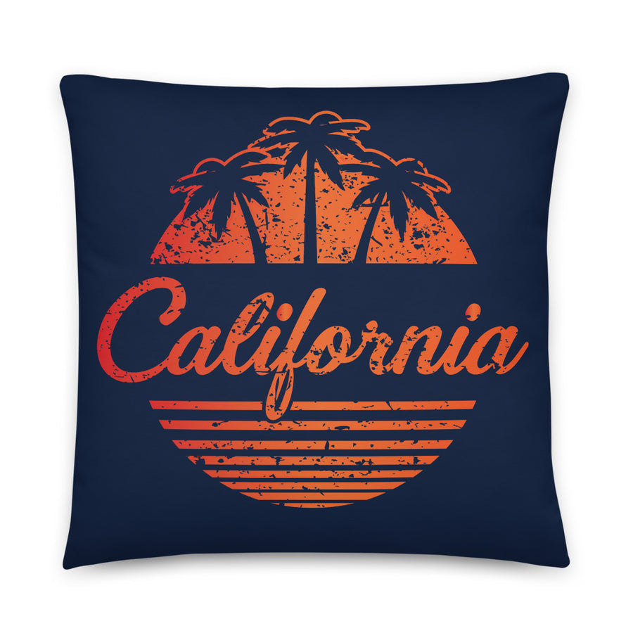 California Vintage Classic - Throw Pillow