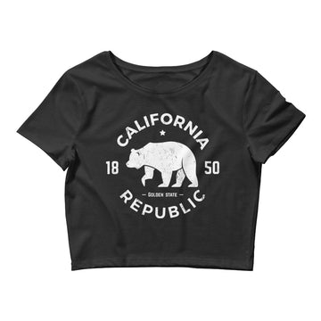 California Republic 1850 - Women's Crop Top