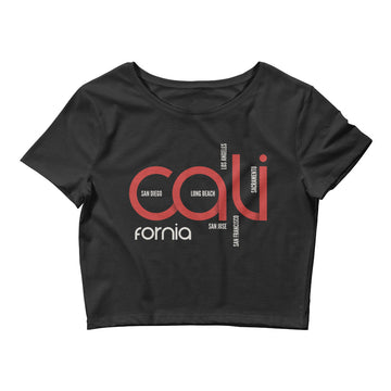 Cali Cities - Women's Crop Top