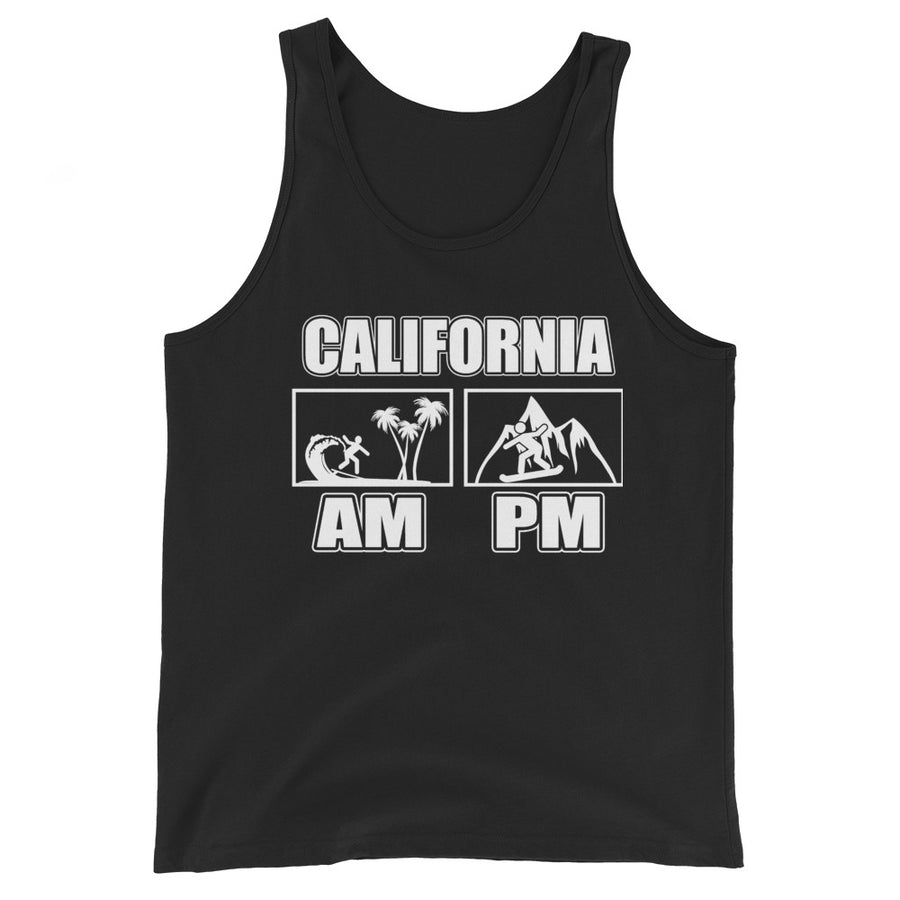 California Double Surf Snow - Men's Tank Top