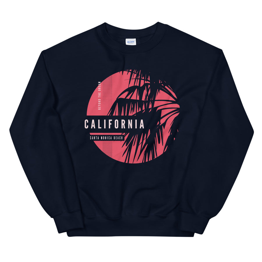 Santa Monica Beach - Men's Crewneck Sweatshirt