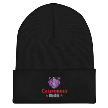 California Grizzly Bear - Beanie