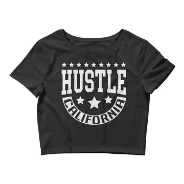 Hustle California - Women's Crop Top