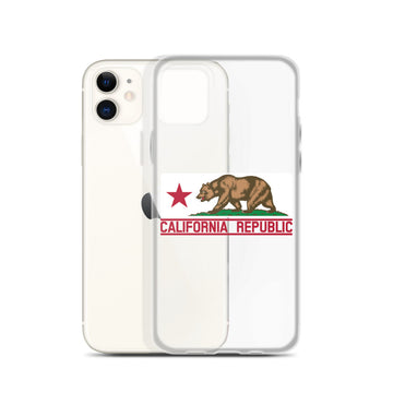 California Flag - iPhone Case