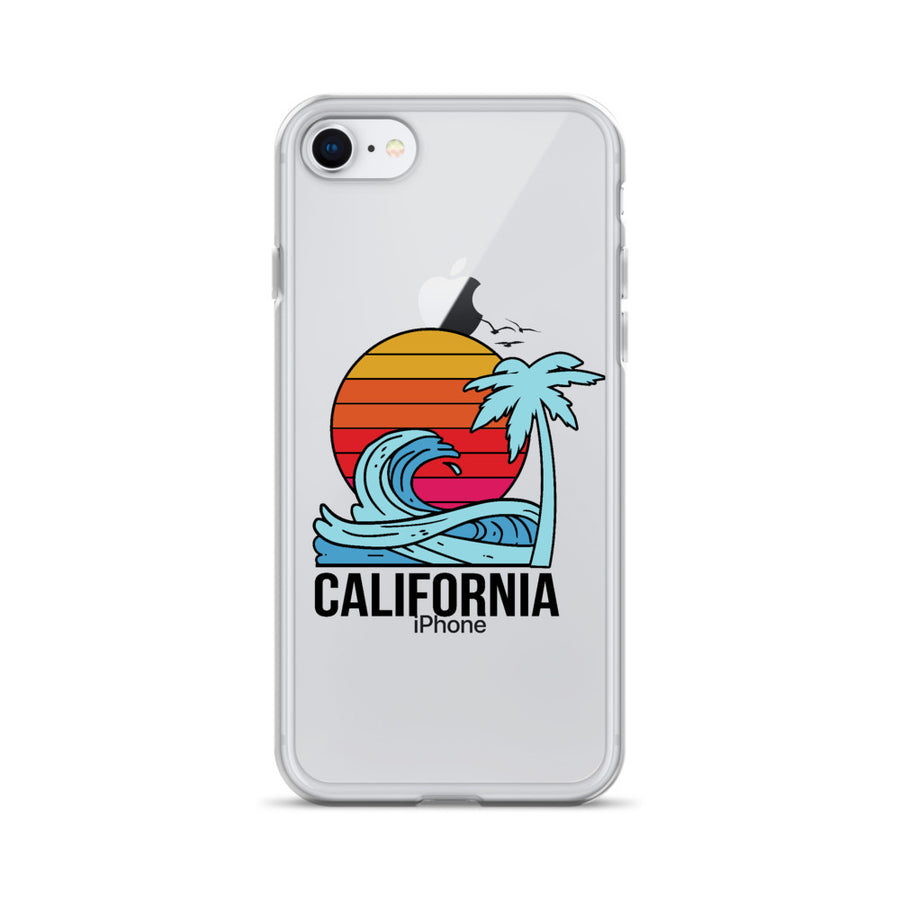California Sunset - iPhone Case