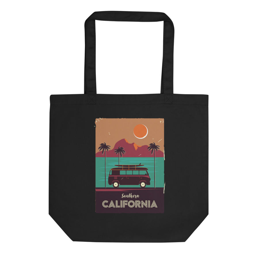 Southern California Beach Van - Tote Bag