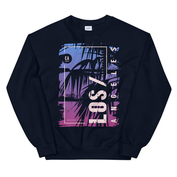 Los Angeles California Palms - Men's Crewneck Sweatshirt