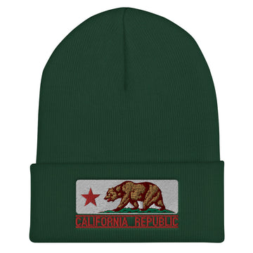 California Flag - Beanie