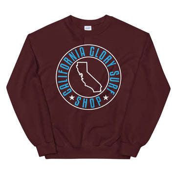 California Glory Surf Shop - Men's Crewneck Sweatshirt