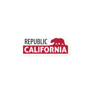 California Republic Bear Classic - Sticker