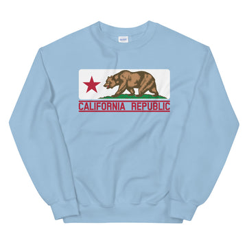 California Flag - Men's Crewneck Sweatshirt