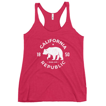 California Republic 1850 - Women's Tank Top