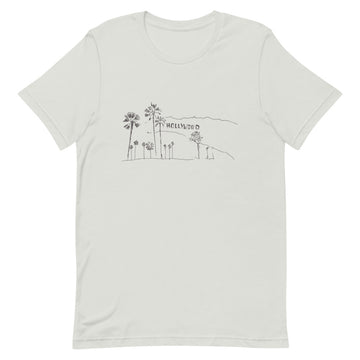 Hand Drawn Hollywood Sign - Men's T-Shirt