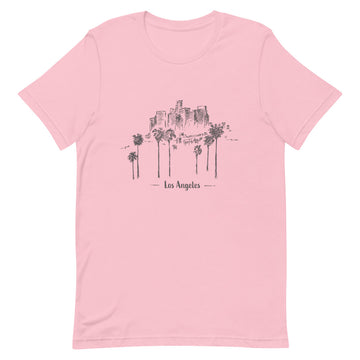 Hand Drawn Los Angeles - Women's T-Shirt