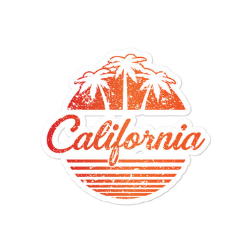 California Vintage Classic - Stickers