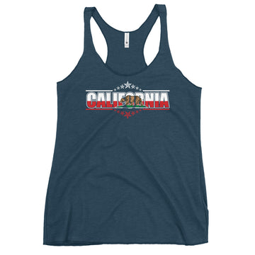 Patriotic Californian - Women's Tank Top