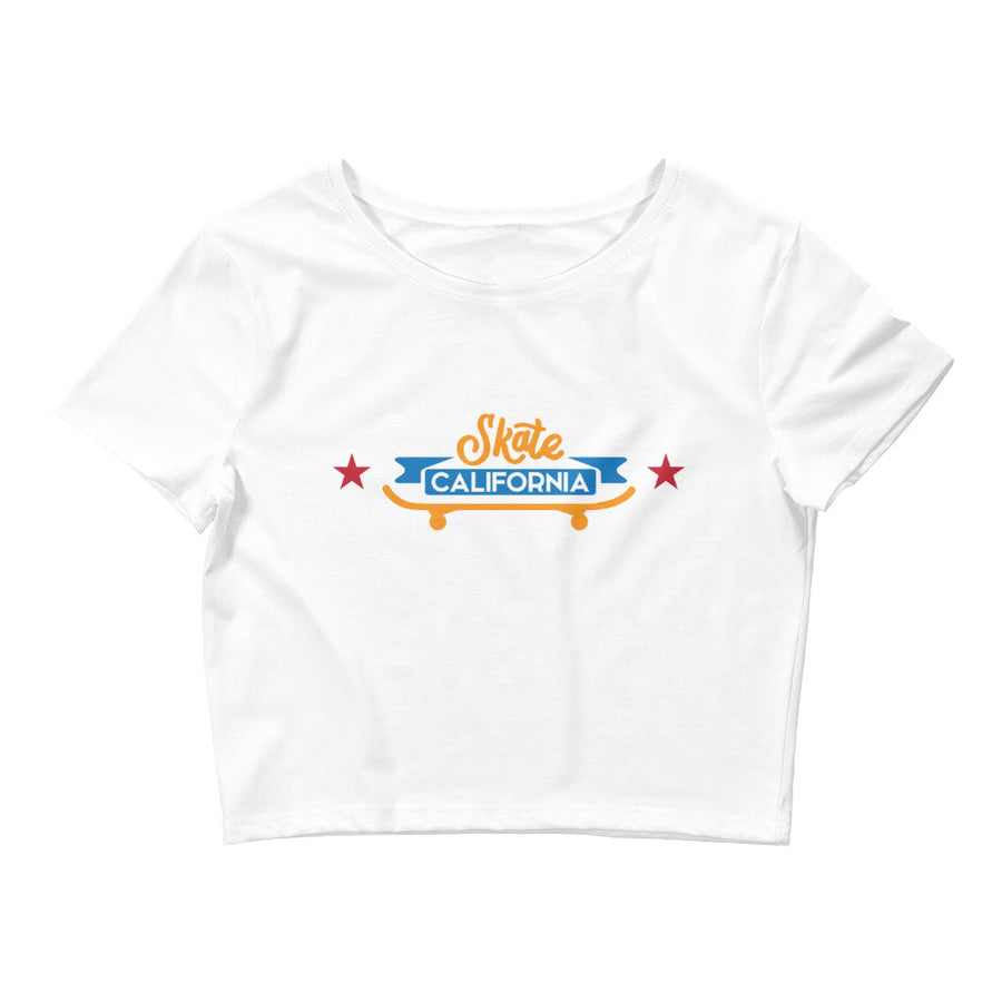 Skate California - Women's Crop Top