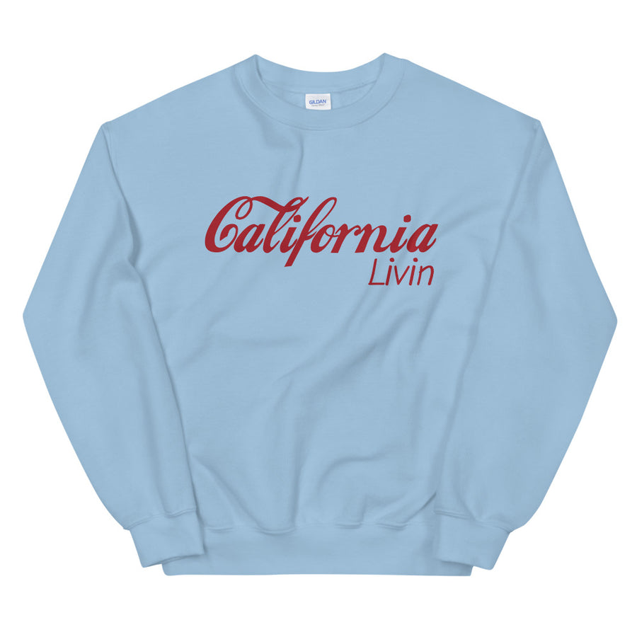 California Livin - Women's Crewneck Sweatshirt
