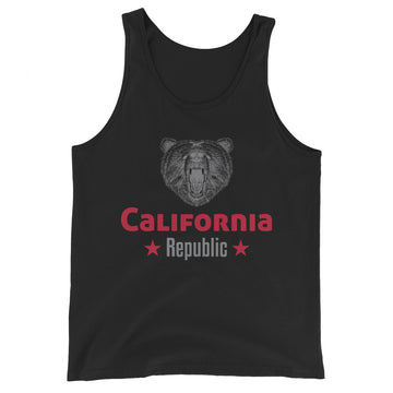 California Grizzly Bear - Men's Tank Top
