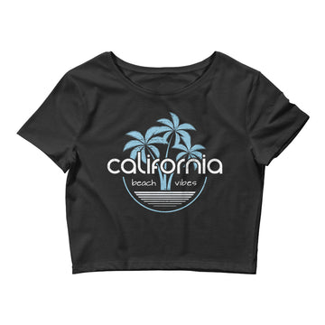 California Beach Vibes - Women's Crop Top