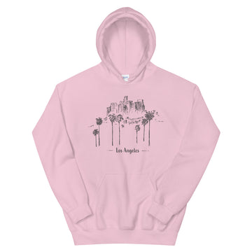 Hand Drawn Los Angeles - Women's Hoodie