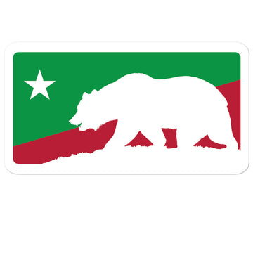California Baseball Lifestyle - Sticker