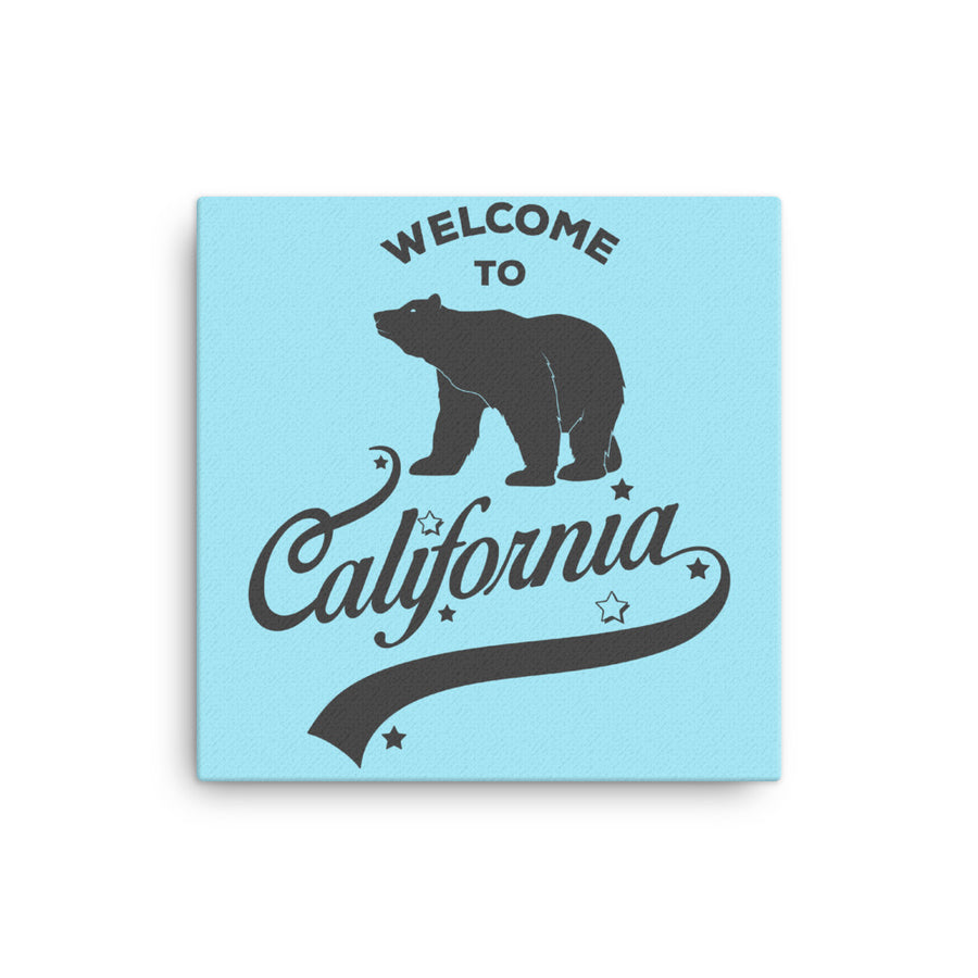 Welcome to California - Canvas Art