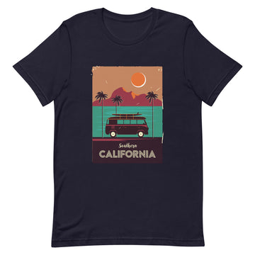 Southern California Beach Van -Men's T-Shirt