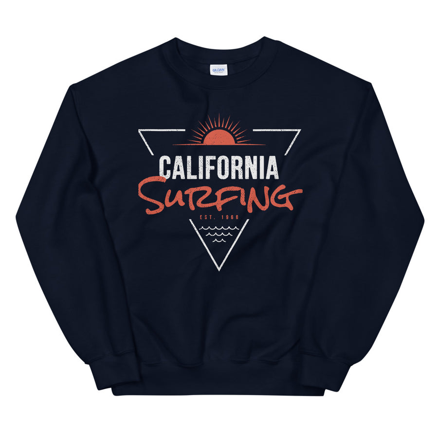 California Surfing 1968 - Men's Crewneck Sweatshirt