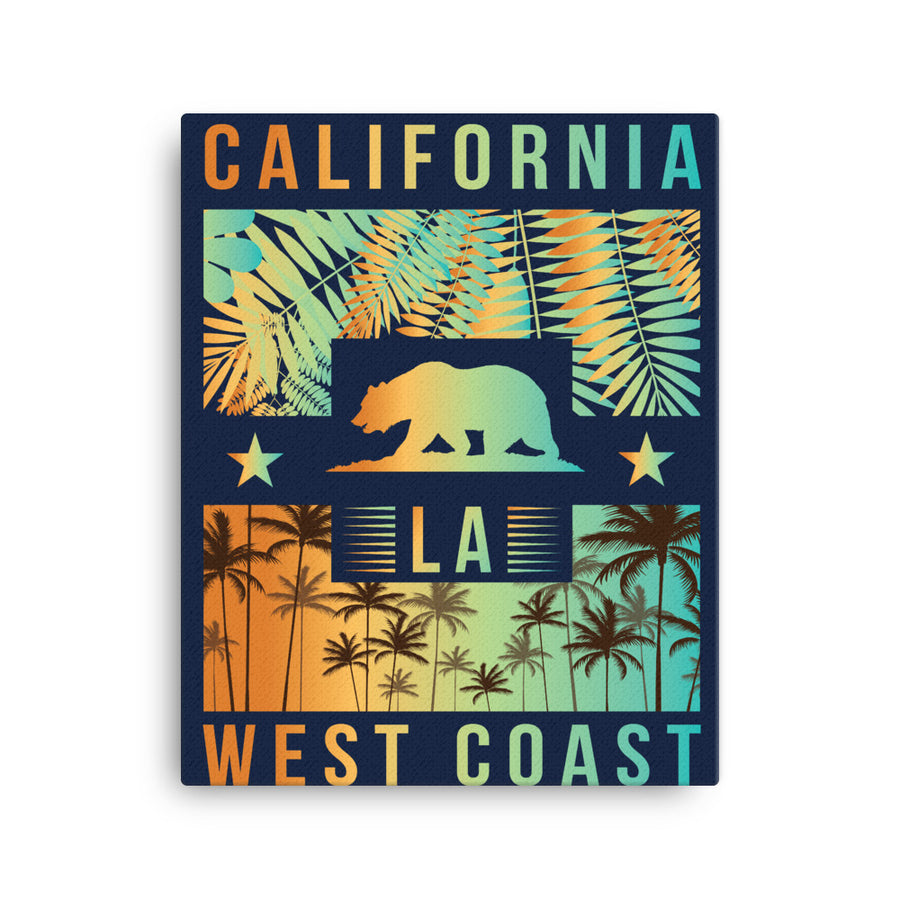 West Coast California - Canvas Art