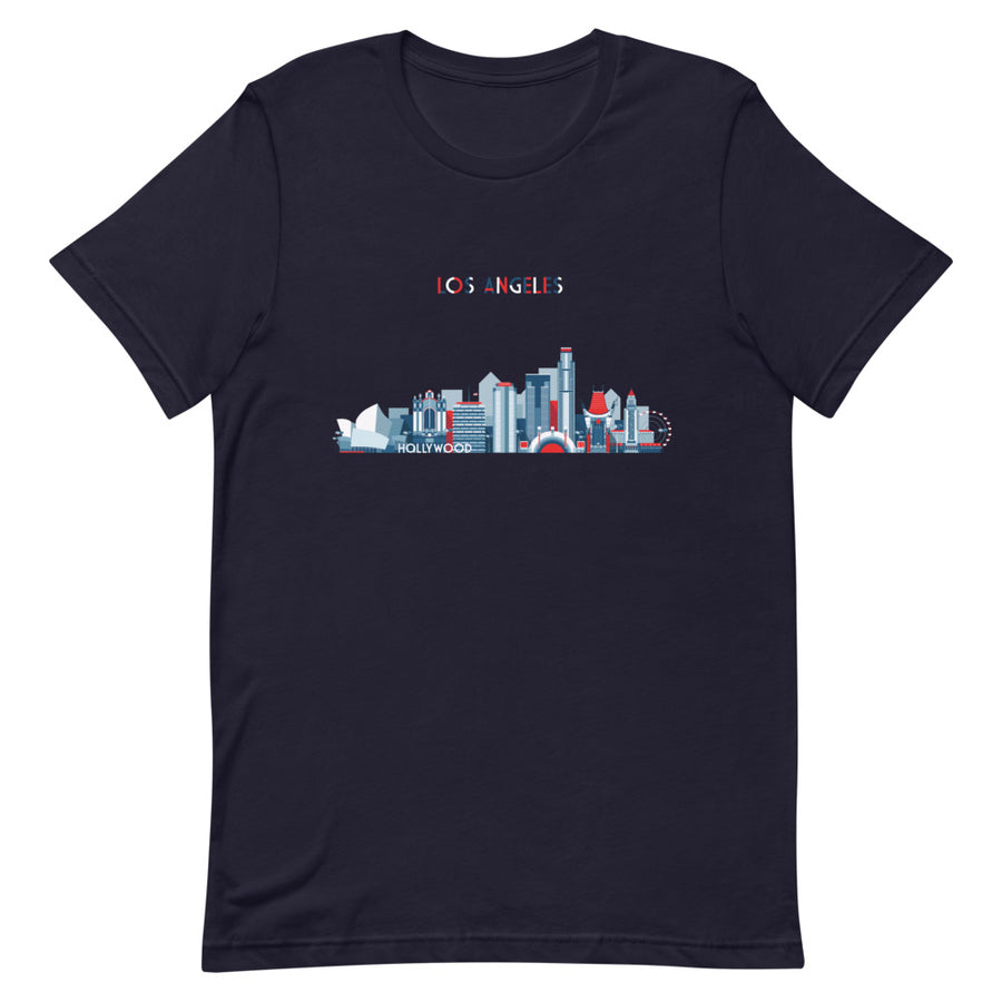 Los Angeles In Red White Blue - Women's T-Shirt