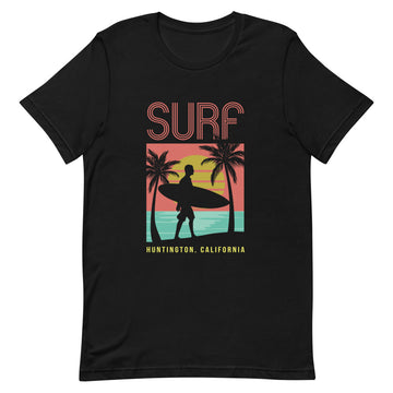 Surf Huntington - Men's T-Shirt