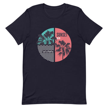 California Sunset Boulevard - Men's T-Shirt