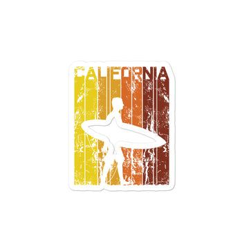 California Surfer - Stickers