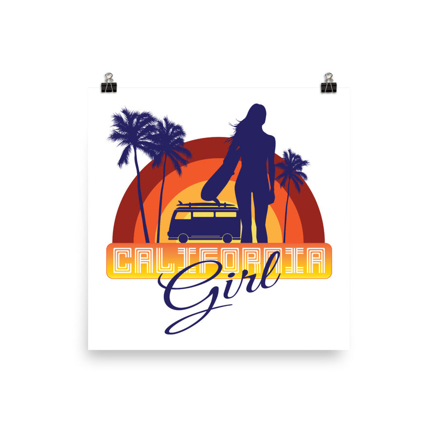 Original California Girl - Poster