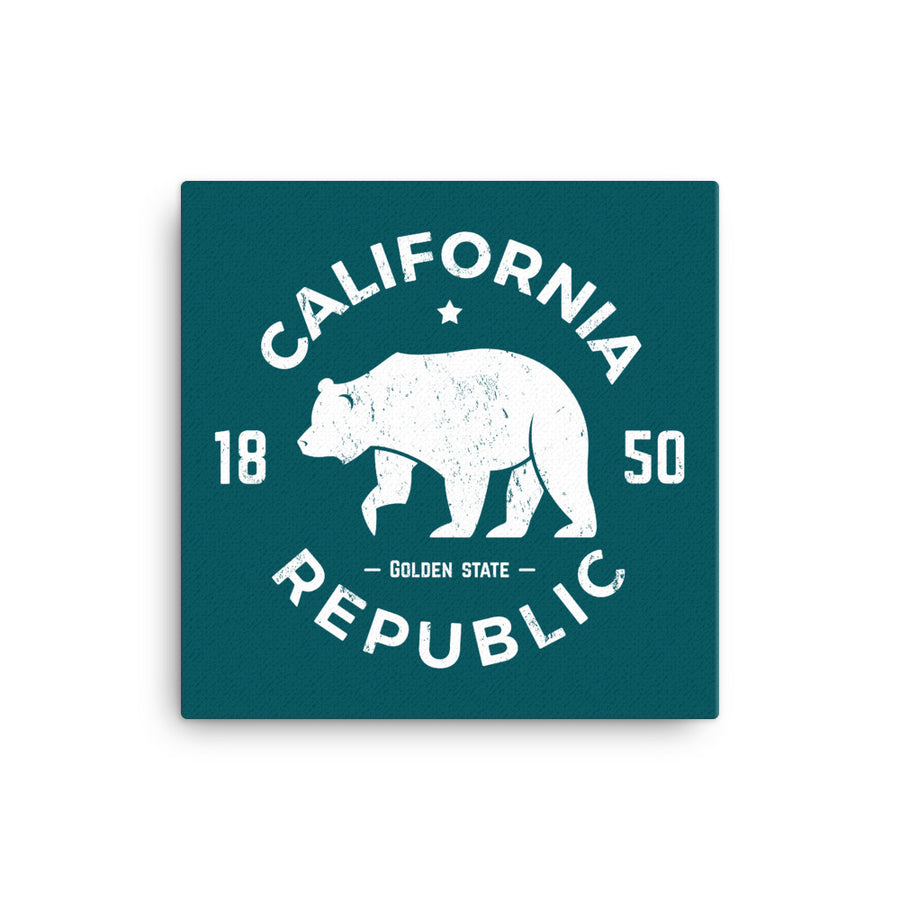 California Republic 1850 - Canvas Art