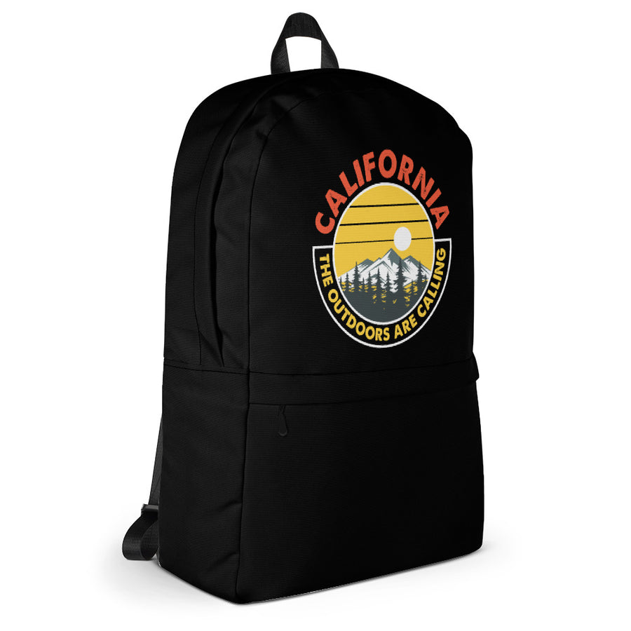 California Outdoor Mountain Sunset - Backpack