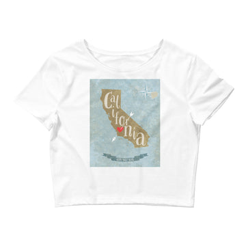 California Home Sweet Home - Women's Crop Top