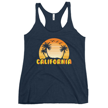 Classic California Beach - Women's Tank Top