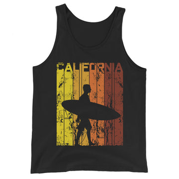 California Surfer - Men's Tank Top
