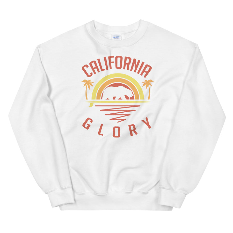 California Glory Bear - Women's Crewneck Sweatshirt