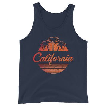California Vintage Classic - Men's Tank Top