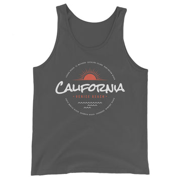 Venice Beach California - Men's Tank Top
