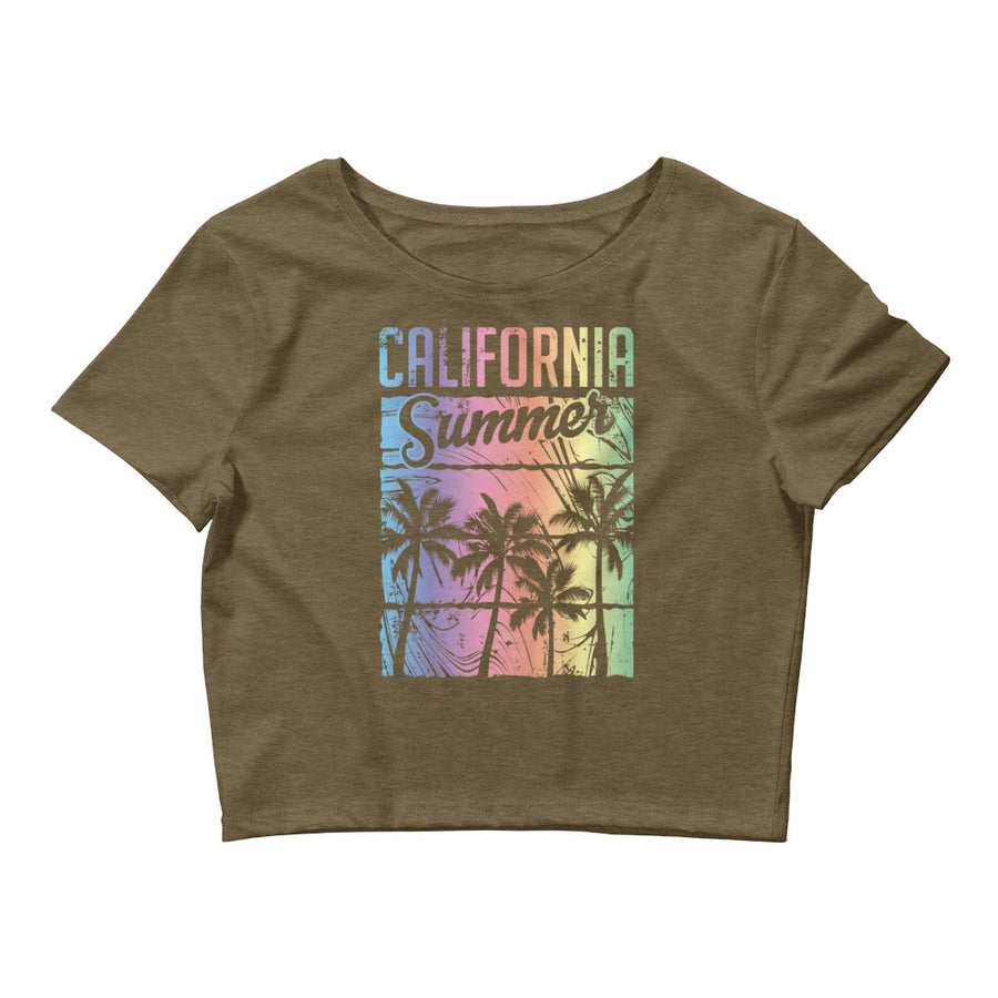 California Summer - Women's Crop Top