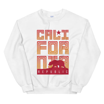 Republic of California - Men's Crewneck Sweatshirt