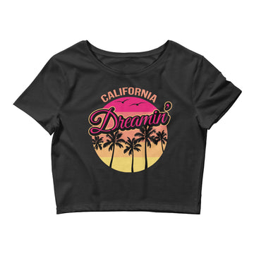 California Dreamin Sunset - Women's Crop Top